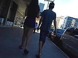 Delicia de shortinho atolado passeando com o corninho