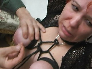 Tits in punishment and squirt