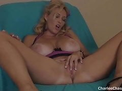 Sexy Tampa Hot Wife Charlee Chase Makes Her Pussy Cum!