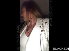 BLACKEDRAW Zdradzająca dziewczyna kocha swoją muskularną, czarną czerń