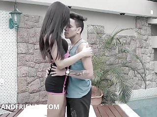 Shemale Fucks Guy Shemale Hd Videos Jolie And Friends Shemale video: My very first time