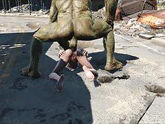 Fallout 4 Elie Supermutants zasadzka