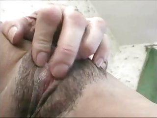 young hairy bitch with dad