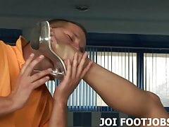 Você está pronto para a sua sessão de adoração do pé JOI