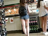 Asian Teens Yummy Legs and Butt