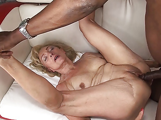 Interracial Big Cock Mature video: our moms first big cock interracial fuck lesson