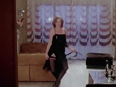 HOUSEWIFE STRIPPER - vintage mature stockings striptease