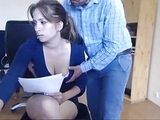 Voyeur,Webcam,Secretary