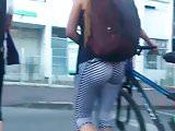 Striped Leggings Sexy Ass