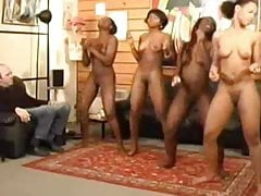 nude ebony girls dancing