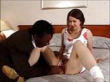 Teen interracial double penetration