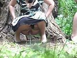 Hidden Cam In Forest Girls Pee Part 11