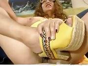 Mature latina maid with a nice big pussy
