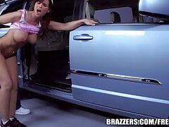 Brazzers - Syren De Mer, Milf in a mini-van