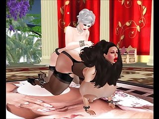 Strapon Big Tits Big Ass video: Les Sluts