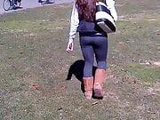 Thick White Girl In Leggings
