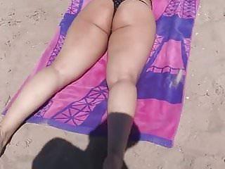 Voyeur,Beach,Outdoor,Big Ass,Latina,Thong,Hd Videos,Latina Ass,Big Latina,On The Beach