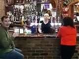 Focus on TV madness in Newcastle Pub (BANTER AT ITS BEST)