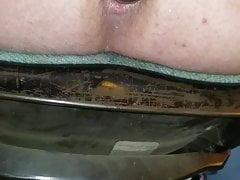 Triefender gefrorener Schnitt von meinem Arsch