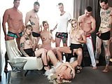 Huge shemale anal orgy