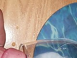 Wine glass cumshot