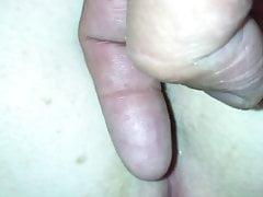 Ehefotze dedos delante de la cogida