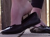 Natalie brown flats shoeplay noise PREVIEW