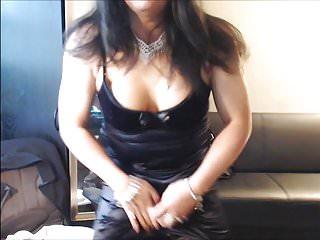 Black Satin Dress 6