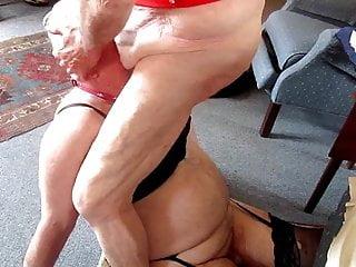 Masturbation Shemale Lingerie Shemale Bareback Shemale video: Max feeds the fag!!