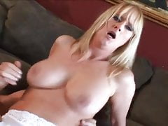 Horny Milf Fucked on Couch