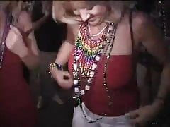 Girls flashing at fantasy fest pt1