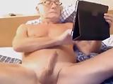 old man jerking off
