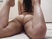 Japanese Skinny Teen G-String