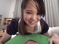 Malá sestra Love Sucking a Big Cock - Risa Oomomo