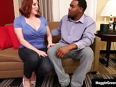 Full Figured Hotness Maggie Green Is Destroyed By Rome Major!
