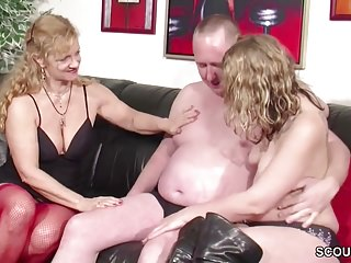 Teens German video: German Ugly Teen Lucy get First Fuck by Step-Dad and Mom
