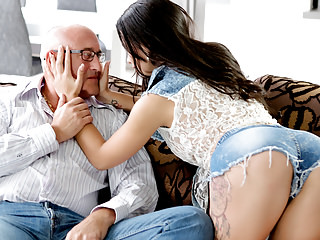 Matures Oldyoung Dad video: OLD4K. Rough sex for stunning latina babe