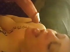 Poussin Tatted Sucks Huge Cock