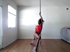 Rasta Girl Sexy Pole Dance - Ameman