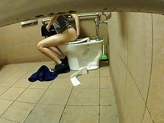 Lebensmittelgeschäft Toilette