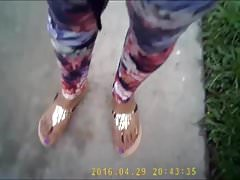Evonna Cammon Purple Toes