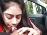 desi gf giving expert blow job to her lover in car like rand