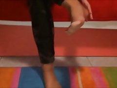 Nylonowe stopy Maria (rozmiar 39)