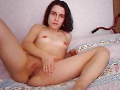 German amateur mom masturbates for you again