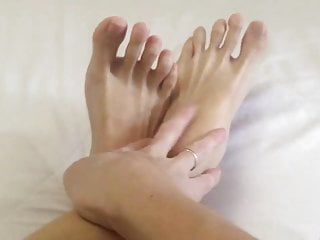 Hd Videos xxx: banana cream feet