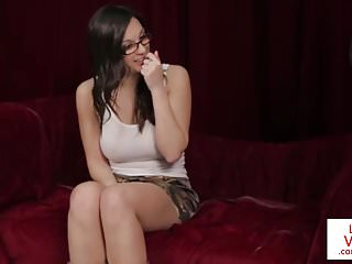 Voyeur Cfnm Voyeurs video: Butsty CFNM Brit clitrubs for voyeur wanker