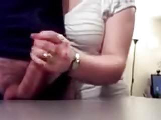 Amateur Handjobs Big Cock video: A&J HJ