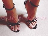 6inch high heel sandal