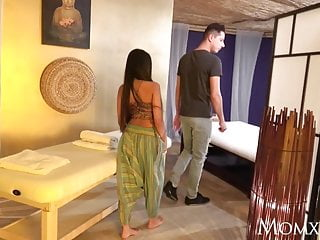 Milfs Lesbians Thai video: MOM Thai massage and passionate sex with horny Asian MILF