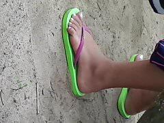 Pies de playa filipina 3